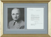 Harry S Truman - Typed Letter Signed 11/12/1947