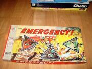 Milton Bradley 1974 - Emergency Tv Game - Complete Your Teamand039s Mission First