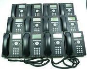 Avaya 9620l Ip Business Black Ip Telephones With Stand Tested Lot Of 12
