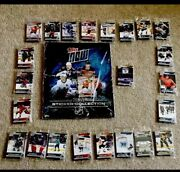 Rare Inaugural Collection Of 2019-2020 Topps Now Nhl Sticker Books And Stickers