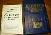 1935 36 37 38 39 1940 Chilton Service And Parts Manual Plymouth Lincoln Ford Buick