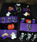 Jack B. Quick Halloween Sweater Vest Lg Owl New Extra Buttons Elaborate Beading