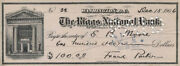 Frank Parker - Check Signed 12/15/1906 Co-signed By Edgar B. Moore