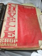 Vintage Used 1964 Chevrolet Chevelle Shop Service Manual In A Notebook