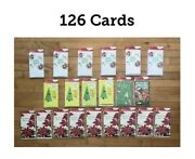 American Greetings Christmas Cards Money / Gift Card Holder 126 Cards / New