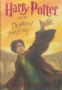 Harry Potter And The Deathly Hallows By Rowling J K Book The Fast Free Shipping