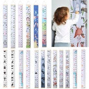 Removable Baby Child Kids Height Scale Measure Growth Ruler Wall Hanging Chart
