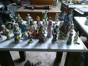 Box Of Homco/norleans Figurines Approximately 50