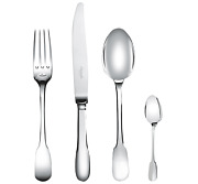 Cluny By Christofle 24-piece Silver-plated Flatware Set With Chest - 00016824
