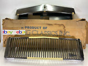 Rare Vintage E And G Classics Grille And Hood Cap For 1986-87 Cadillac Seville Nos