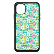 Otterbox Symmetry For Apple Iphone Pick Model Preppy Green Pink White Flowers