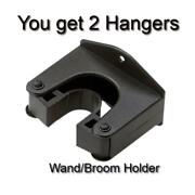 Vacuum Cleaner Wall Mount Holder For Shop Vac Pipes Tubes And Wands 1-1/4 Only