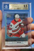 2017-18 Martin Necas Ud Young Guns Clear Cut Acetate 464 Bgs 9.5 Rookie Rc