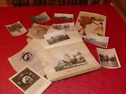 1914-1919 Cahier Guerre Louis Boulay Sous Off Artillerie Photos And Documents Ww1