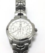 Mens Tag Heuer Stainless Steel Watch Ct511bbao564 Automatic Chronograph Move