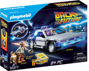 Playmobil - Back To The Future Delorean [new Toy] Boxed Set, Figure