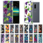 For Sony 1 6.5 Design Transparent Crystal Clear Soft Tpu Case Skin Cover
