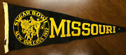 Rare 1942 Sugar Bowl Football Pennant Missouri Tigers Fordham Rams