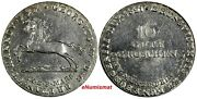 Germany Hannover George Iv Silver 1821 16 Gute Groschen 30 Mm Aunc Km 127 95