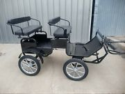 Frontier Equestrian Mini - Pony Size Trail Buggy With Brakes And Team Pole