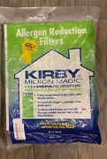 Kirby Vacuum Cleaner Micron Magic 6ct Bags Hepa Filtration F-style Twist-style