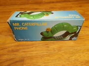 Vintage Mr. Caterpillar Telephone Phone - Cp-10 - Never Used