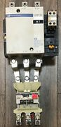 Telemecanique Lc1f115 Relay, With 90a-150a Overload, 115/120v Coil