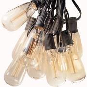 Vintage Edison Outdoor / Indoor Patio String Lights 25', 50' And 100' Lengths