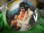 """Elvis Remembered Series 2 """"loving You """"plate By Artist Susie Morton 1987 New"""