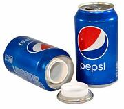 Real Pepsi Cola Soda Can Safe Wide Mouth Access Stash Decoy Bottle Gift Free