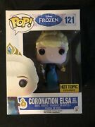 Funko Pop Frozen Coronation Elsa With Orb And Scepter Hot Topic Exclusive 121