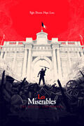 Les Miserables By Olly Moss - Sold Out Mondo Print