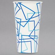 1000 Case 32 Oz Concession Double Poly-coated Disposable Paper Cold Drink Cup