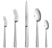 Hudson By Christofle 24-piece Silver-plated Flatware Set With Chest 02453824
