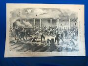 The Soldier In Our Civil War 2-sided Page From Frank Leslieand039s 1893 Newspaper