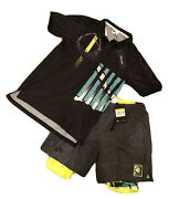 Nike Challenge Court Shorts And Vollaix Lights Out Fireball Polo Shirt 1990
