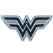Wonder Woman Hook And Loop Correctional Officer Gray Line Pvc Patch