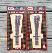 1 Pair Atlas 1/160 N Scale Code 55 5 Manual Right Hand Turnout Switches 2051 Fs
