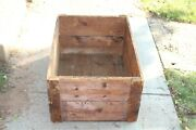 Huge Antique Winchester Wood Crate Box Plank Wood Boards
