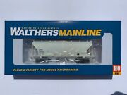 Walthers Ho Trinity 3281 2-bay Covered Hopper Cit Citx Tilx W Etched Walkways