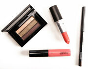 Mac Look In A Box All About Coral Lipstick Lipglass Eyeshadow Liner New Rare