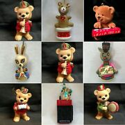 M39 Animal Playing Music Ornaments Each Priced Separately Many Choices Christmas