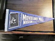 1962 Movieland Wax Museum Real Photo Pennant