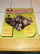 Mickey Mouse Club 45. Musketeerand039s Talent Round-up