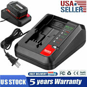 20v Max Rapid Charger For Blackanddecker And Porter Cable 20 Volt Lithium Battery