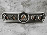 Classic Instruments 1965-1966 Mustang Package Velocity Black Instrument Cluster