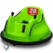 Electric 6v Ride Bumper Car Kids On Remote Control 360 Toys Pink Lights New Gift