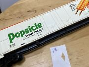 Popsicle Twin Treats Tyco Ho Scale Freight Train Box Car Vintage Prr P29016 8.5