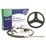 Seastar Ss13711 Quick-connect Boat Steering W Cable 11and039 Helm-plastic Steer Wheel