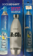 Sodastream 1 New Carbonatingcylinder 60l And Carbonating Bottle+1 Empty Cylinder